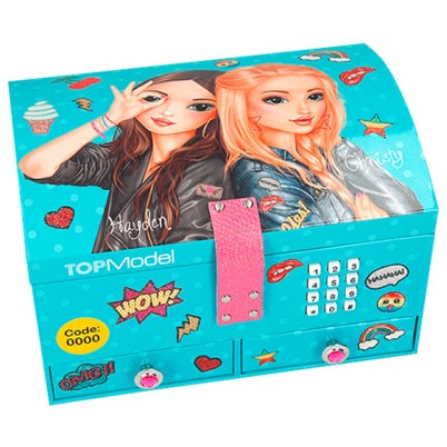 Top Model Jewellery Box with Code & Music