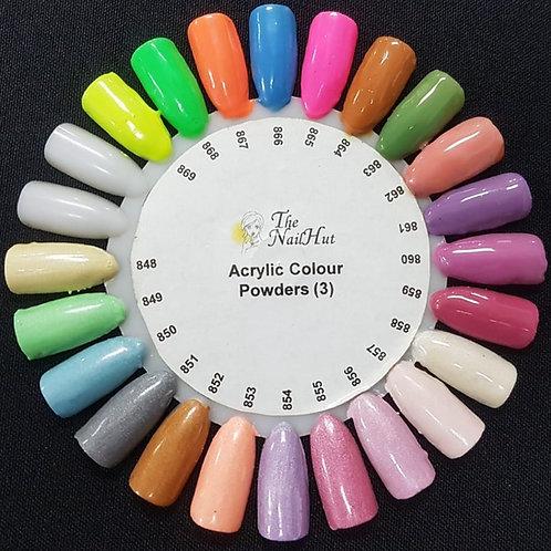 Colour Acrylics #3