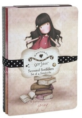 Set of 4 Scribblers #2