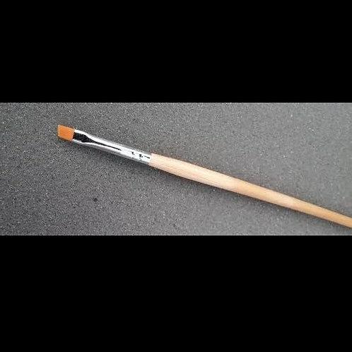 Scew Gel Brush #4 Flat