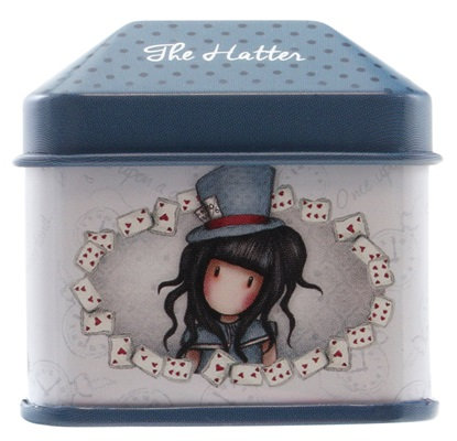 Trinket Tin with Sticker Roll