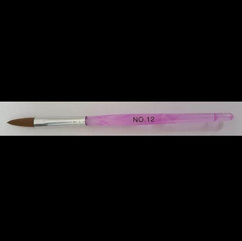 Acrylic Brush Purple #12 Flat