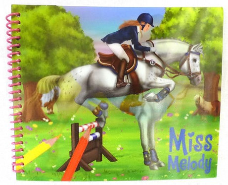 Miss Melody Dress-Up Horse #1