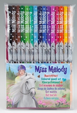 Miss Melody Pencil Set