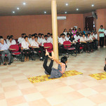 Eye Checkup Camp and Yoga Day Conducted.