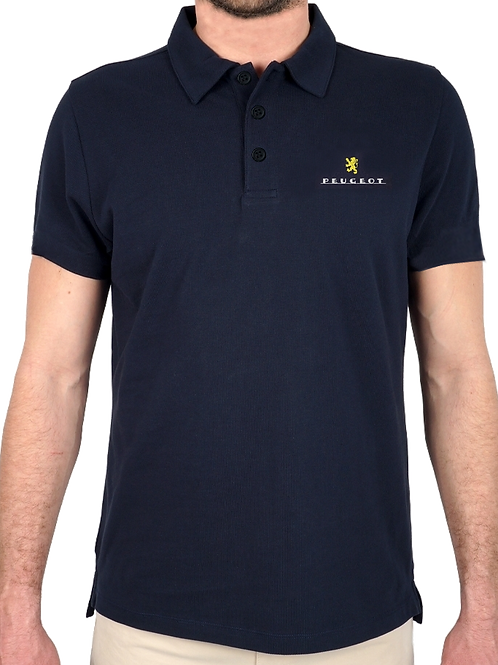 Polo Brodé Peugeot / Embroidered Peugeot Polo