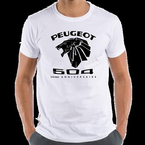 T-Shirt Peugeot 504 50ème Anniversaire / 50th Anniversary