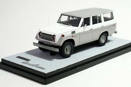 TOYOTA LAND CRUISER FJ55 1974 GRIS-BLANC / GREY-WHITE
