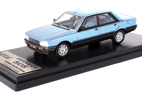 Peugeot 505 Turbo Injection 1984 Bleu Glacier / Glacier Blue