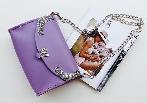 """Serenade"" lilac shoulder bag"