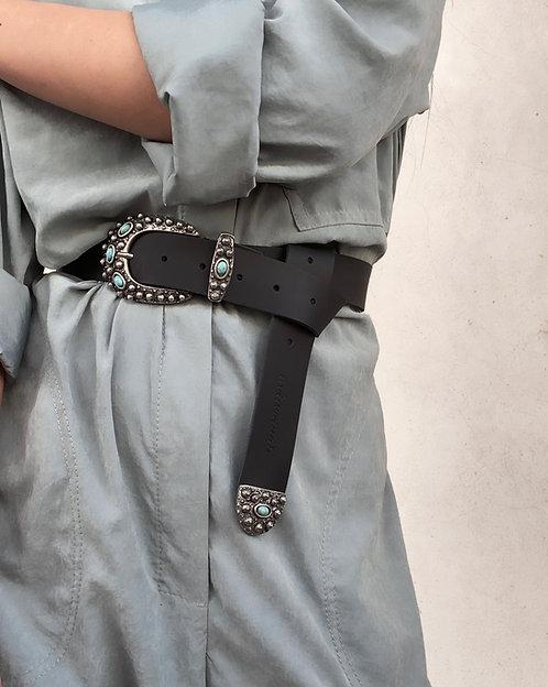 """The retreat"" leather belt"