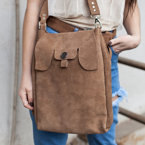"""""""Believer"""" shoulder bag with double strap"""