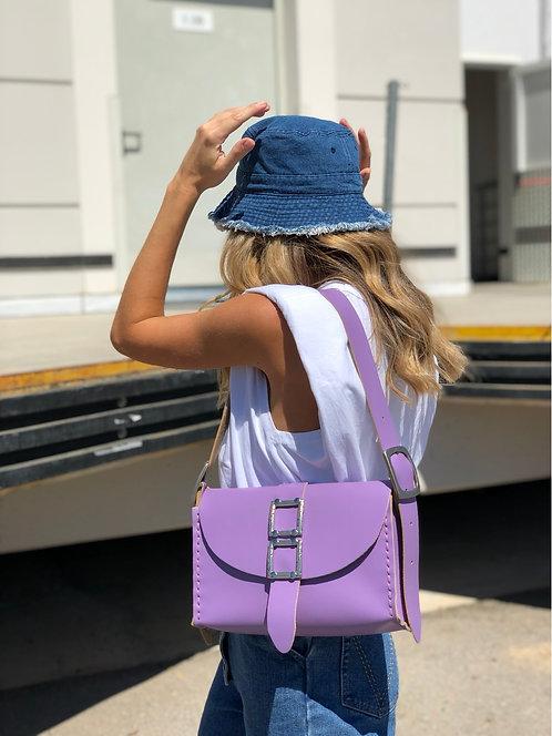 """Lift me up"" lilac shoulder bag"