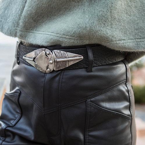 """""""Misunderstood"""" leather belt"""