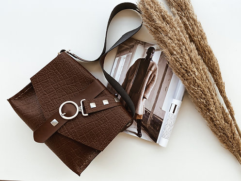 """Lotus"" shoulder bag"