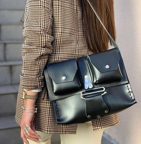 """""""Extreme ways"""" shoulder bag"""