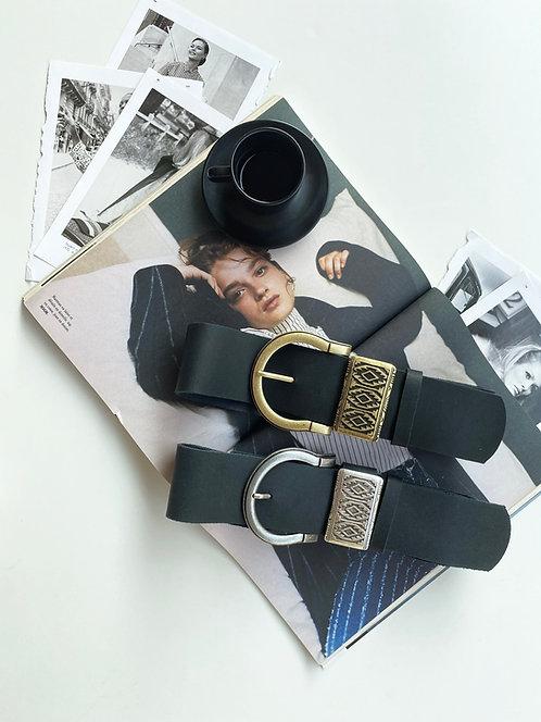 """Beat it"" leather belt"