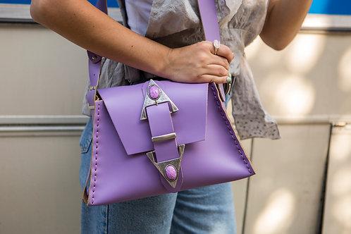 """""""Dance monkey"""" lilac shoulder bag"""