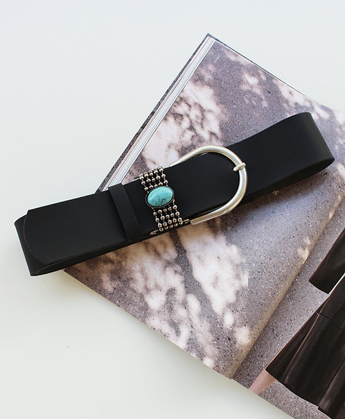 """Beautiful"" leather belt"