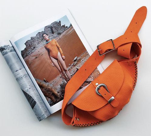 """Belong"" orange waist bag"