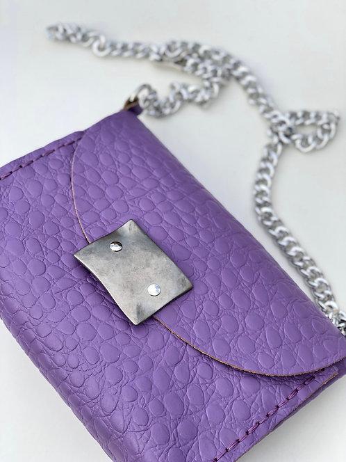 """""""I see fire SS20"""" purple shoulder bag"""