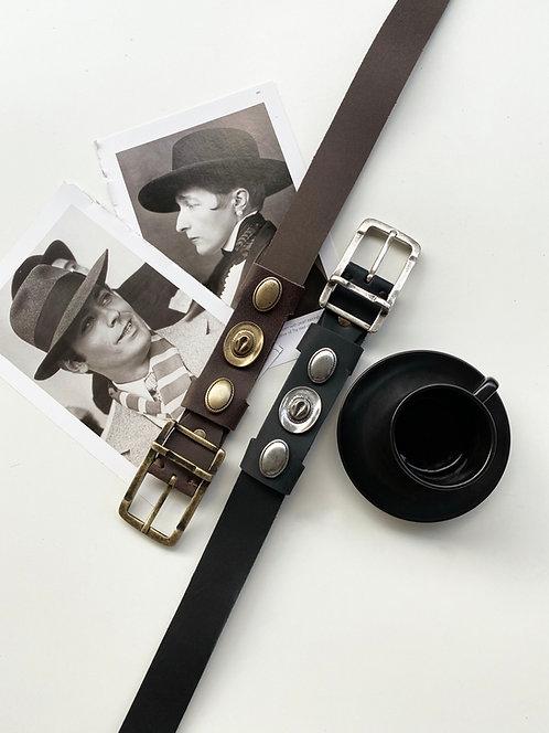 """""""Fame"""" leather belt"""