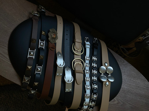 SS21 Leather belts