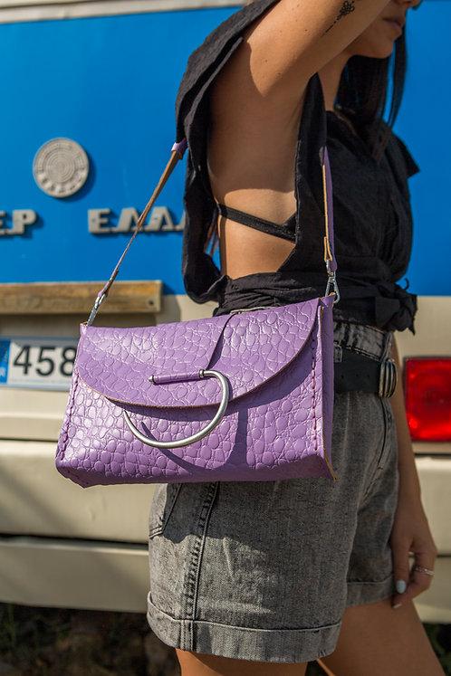 """Senorita SS20"" purple shoulder-clutch bag"