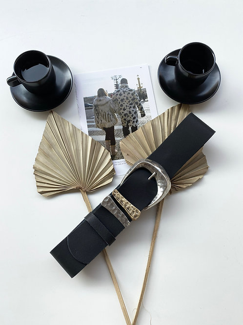 """Rosanna"" leather belt"