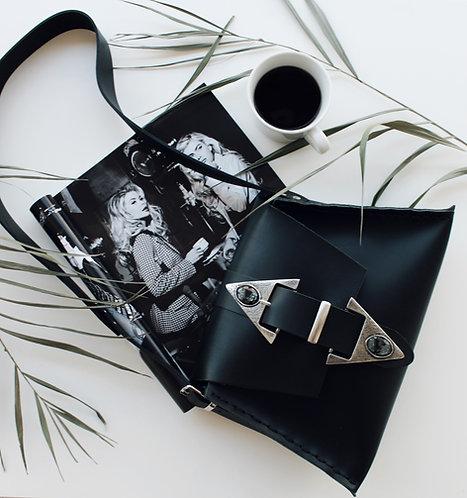 """""""Dance monkey"""" black shoulder bag"""