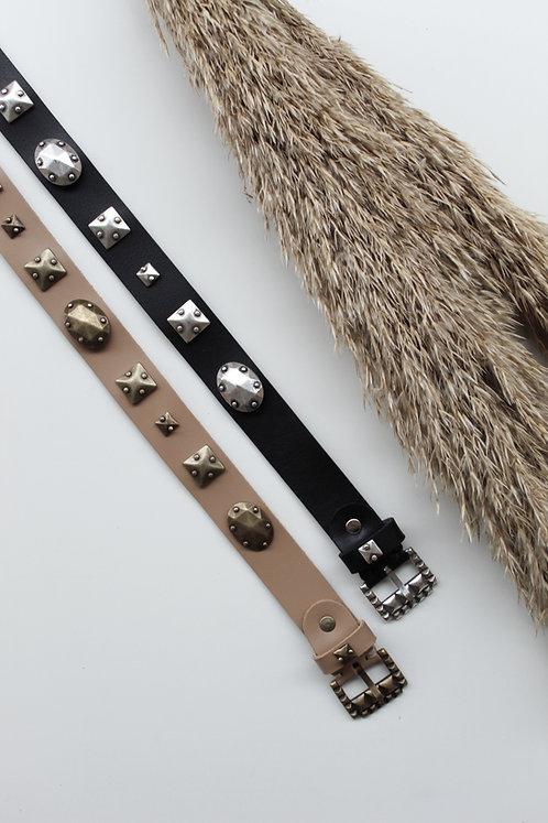 """Revolution"" leather belt"