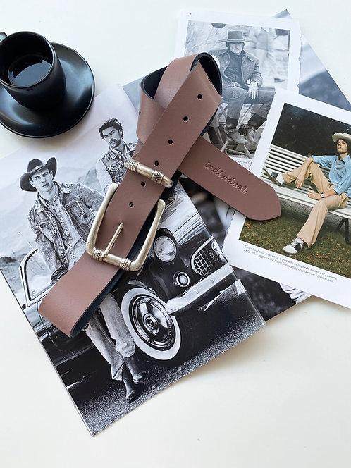 """Alone"" leather belt"