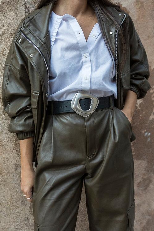 """Acrobat"" leather belt"
