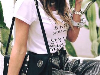 @Athinao1konomakou wearing individual leather goods