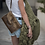 "Thumbnail: ""Senorita"" croc shoulder-clutch bag"