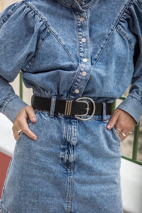 """Adore"" leather belt"