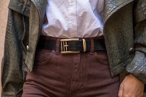 """Billie Jean"" leather belt"