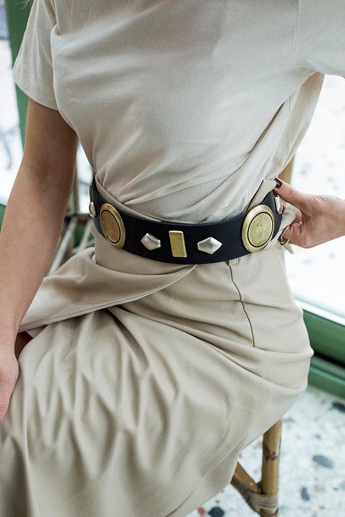 """Atmosphere"" leather belt"