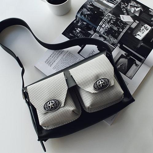 """""""Nevermind"""" shoulder bag"""