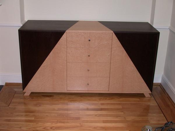 Wenge & BurrMaple Audio Cabinet della-Porta design