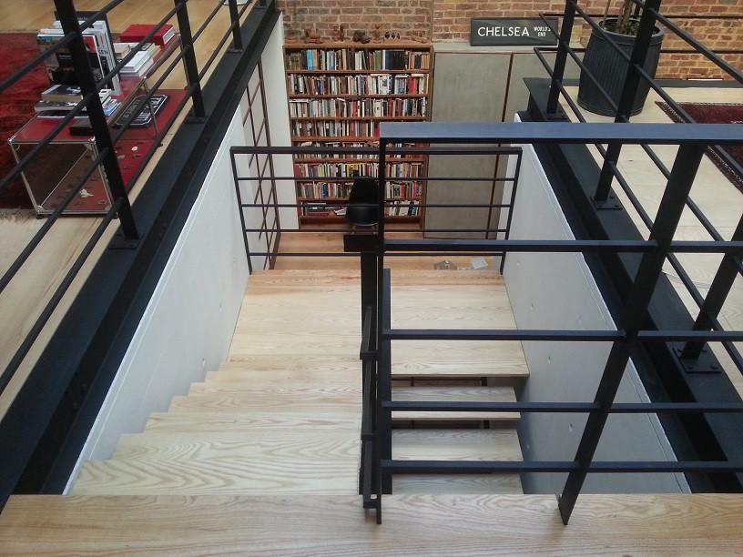 Residential Staircase della-Porta design