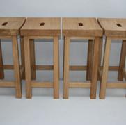 Oak Dining Stools