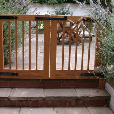 Iroko Garden Gates