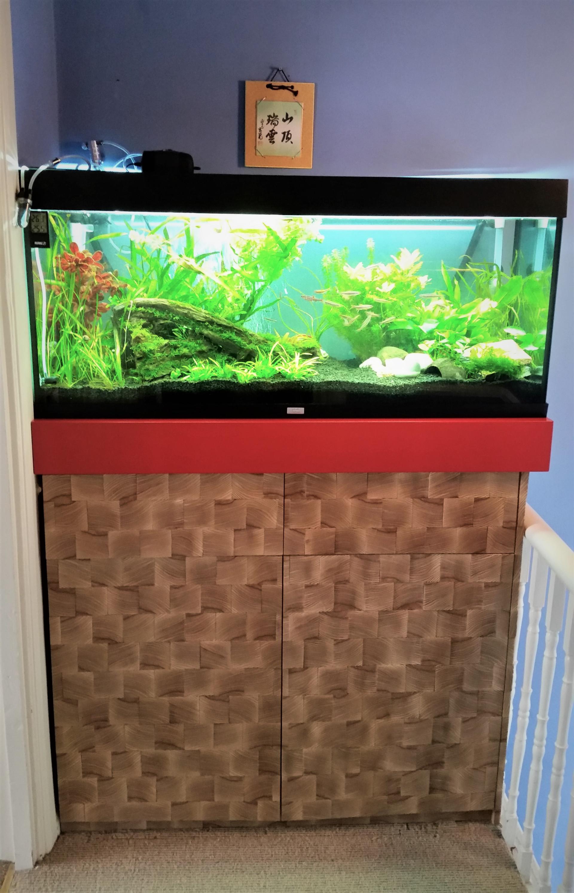 Fish Tank Cabinet della-Porta design