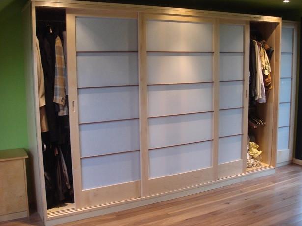 Maple Wardrobe Screens della-Porta design