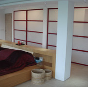 Red Lacquered Screens