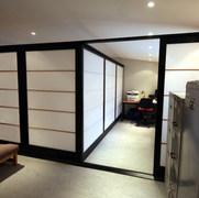 Ebonised Oak Room Dividers