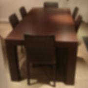 Wenge Dining Table della-Porta design