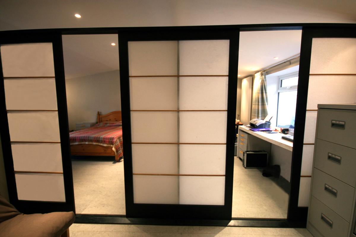 Ebonised Oak Room Dividers della-Porta design