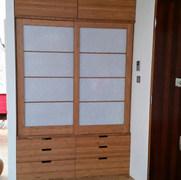 Bamboo Entrance Cupboard
